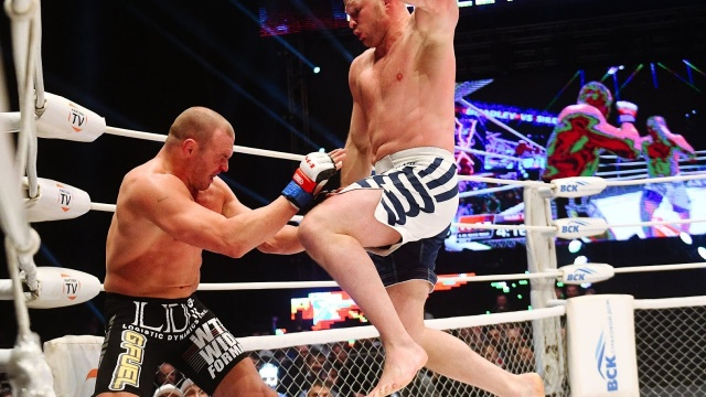 M-1 Challenge 75: Shlemenko vs Bradley highlights video, как это было