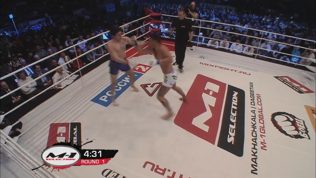 Акойдан Дюке vs Сергей Фаустов, M-1 Selection 2011 - European Tournament