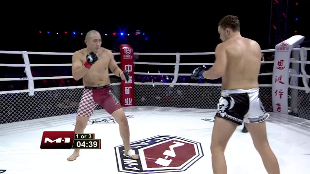 Oleg Olenichev vs Xiang Fei, Road to M-1: China