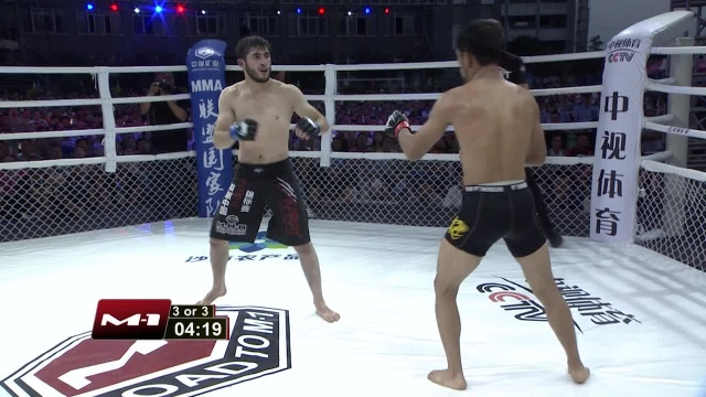 Sukhrob Aydarbekov vs Zhifa Shang, Road to M-1: China