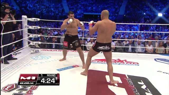 Федор Емельяненко vs Педро Риззо, M-1 Global - Fedor vs. Rizzo