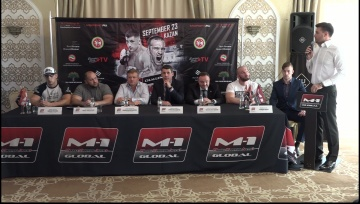 M-1 Challenge 83: Ragozin vs Halsey press-conference
