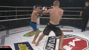 Alexander Novakovskiy vs Alexander Khmara, Road to M-1 - Saint Petersburg