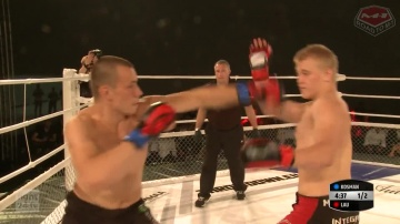 Robert Lau vs Szymon Kosman, Road to M-1: Germany