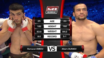 Ramazan Emeev vs Albert Duraev, M-1 Global - Fedor vs. Rizzo