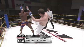 CHRISTIAN M'PUMBU vs Barry Guerin, M-1 Challenge 05