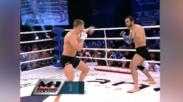 Saparbek Safarov vs Vasily Klepikov, M-1 Selection Ukraine 2010 - The Finals