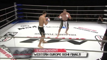 Mairbek Taisumov vs Julien Boussuge, M-1 Selection 2010: Western Europe Round 3
