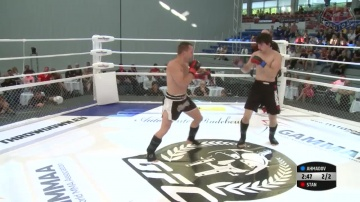 Florian Stan vs Muslim Ahmadov, Road to M-1: Germany