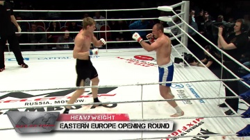Vitaliy Yalovenko vs Alexander Volkov, M-1 Selection 2010: Eastern Europe Round 2