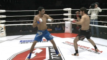 Fuad Aliev vs Adam Albakov, Road to M-1