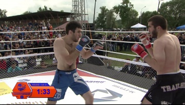 Magomed Gunashov vs Artur Aliev, Fightspirit Championship 8
