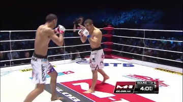 Jose Figueroa vs Daniel Weichel, M-1 Global: Fedor vs Monson