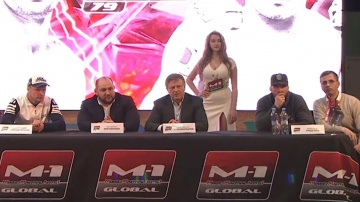 M-1 Challenge 79: Shlemenko vs Halsey press-conference