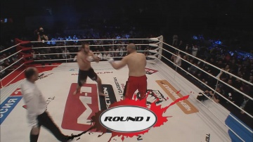 Saparbek Safarov vs Adrien Mallebranche, M-1 Selection 2011: European Tournament