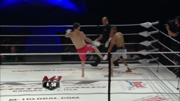 Simon Phillips vs Gael Grimaud, M-1 Challenge 16