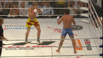 Arsen Ubaidulaev vs Artem Damkovsky, M-1 Selection 2010: Eastern Europe Finals
