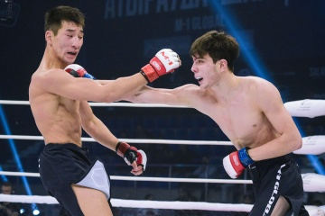 Mate Sanikidze vs Sabit Zhusupov, M-1 Challenge Battle in Atyrau