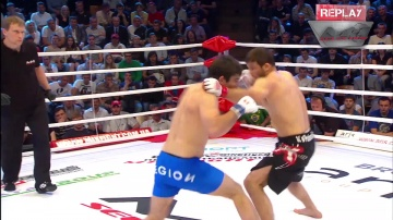 Ramazan Abdulzhalilov vs Shamil Zavurov, M-1 Selection 2010: Eastern Europe Round 3