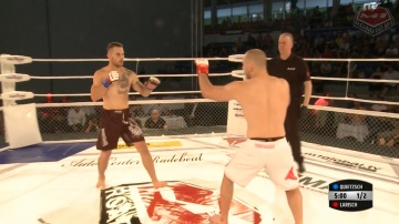 Marcel Quietzsch vs Stefan Larisch, Road to M-1: Germany