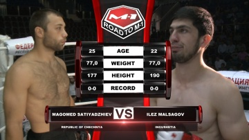 Magomet Satiadzhiev vs Ilez Malsagov, Road to M-1