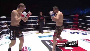 Alexander Volkov vs Arsen Abdulkerimov, M-1 Global: Fedor vs Monson