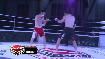 Vakha Shanhoev vs Ahmed Magomedov, Road to M-1: Ingushetia