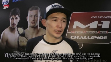Damir Ismagulov: Fight for the title my goal now