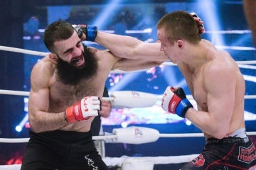 Vasiliy Kozlov vs Georgiy Akoshvili, M-1 Challenge Battle in Atyrau