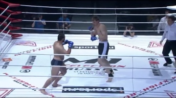 Alikhan Magomedov vs Alexander Volkov, M-1 Selection 3