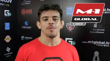 Caio Magalhaes interview after M-1 Challenge 78