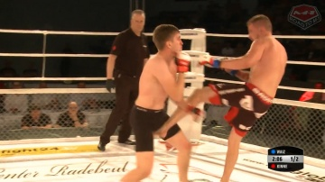 Artur Waiz vs Till Kinne, Road to M-1: Germany