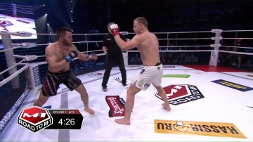 Alisher Kalatov vs Vitaly Yakubenya, Road to M-1 - Saint Petersburg 3