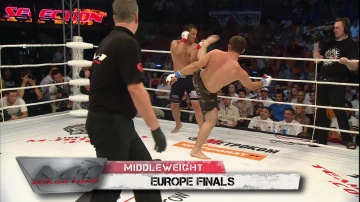 Aleksey Belyaev vs Magomed Sultanakhmedov, M-1 Selection 2010: Eastern Europe Finals
