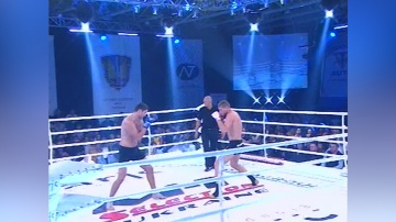 Roman Bagin vs Pavel Snigur, M-1 Selection Ukraine 2010 - Clash of the Titans