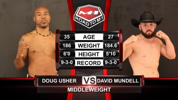 Doug Usher vs David Mundell, Road to M-1: USA - 1