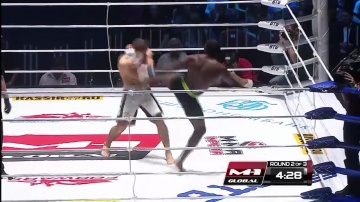 Joshua Thorpe vs Mairbek Taisumov, M-1 Global: Fedor vs Monson