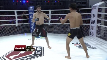 Zhifa Shang vs Sukhrob Aydarbekov, Road to M-1: China