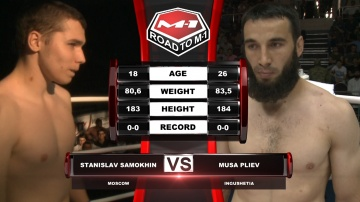 Stanislav Samokhin vs Musa Pliev, Road to M-1