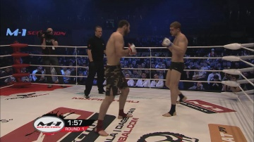 Salim Daudov vs Roman Bagin, M-1 Selection 2011: European Tournament