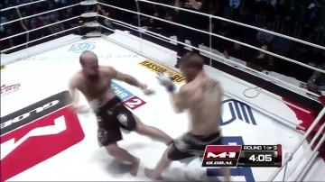 Jerome Bouisson vs Yuriy Ivlev, M-1 Global: Fedor vs Monson