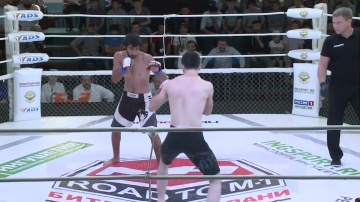 Magomed Alikhanov vs Magomed Daurbekov, Road to M-1: Ingushetia 4