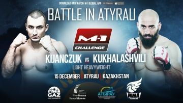Rafal, Kentuc vs Giga Kukhalashvili, promotional match at M-1 Challenge Battle in Atyrau!