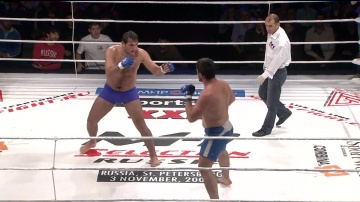 Magomed Khapizov vs Salimgirey Rasulov, M-1 Selection 9
