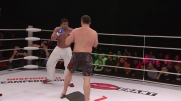Arya Hosseni vs Drazen Forgac, M-1 Selection 2010: Western Europe Round 2