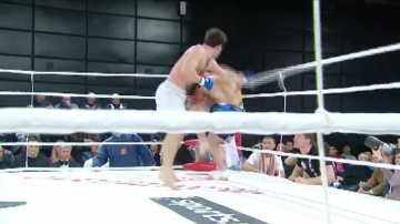 Ibragim Halilov vs Alexander Grebenkin, M-1 Selection 1