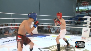 Timur Labazanov vs Bahtiyer Abdulloev, Road to M-1: Germany
