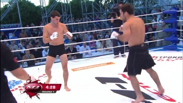 Magomedrasul Khasbulaev vs Kirill Krikunov, M-1 Selection 2010: Battle on Neva