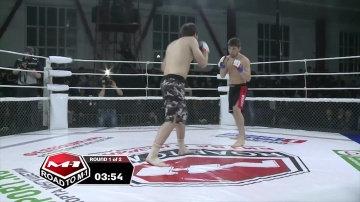 Mansur Vitaev vs Adam Gagiev, Road to M-1: Ingushetia 2