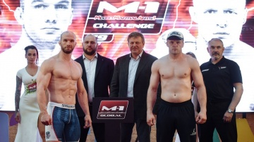 M-1 Challenge 79 Weigh-in